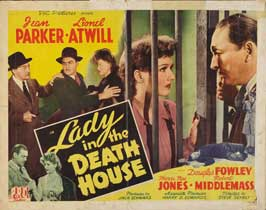 Lady in the Death House - 22 x 28 Movie Poster - Half Sheet Style A