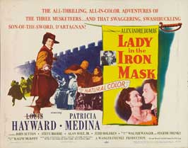 Lady in the Iron Mask - 22 x 28 Movie Poster - Half Sheet Style A