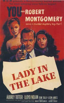 Lady in the Lake - 11 x 17 Movie Poster - Style A