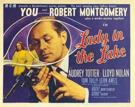Lady in the Lake - 11 x 14 Movie Poster - Style A