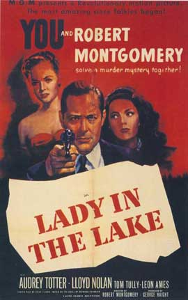 Lady in the Lake - 27 x 40 Movie Poster - Style A