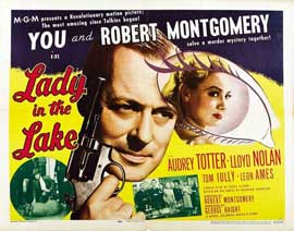 Lady in the Lake - 11 x 17 Movie Poster - UK Style A