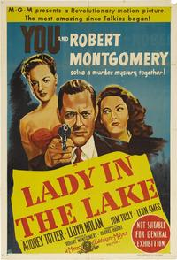 Lady in the Lake - 11 x 17 Movie Poster - Style C
