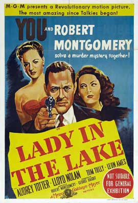 Lady in the Lake - 27 x 40 Movie Poster - Style B