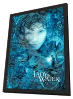 Lady in the Water - 11 x 17 Movie Poster - Style F - in Deluxe Wood Frame
