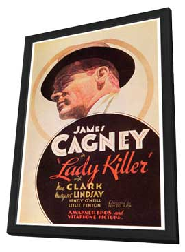 Lady Killer - 27 x 40 Movie Poster - Style A - in Deluxe Wood Frame