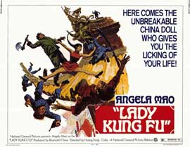Lady Kung Fu - 11 x 14 Movie Poster - Style A