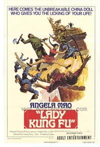 Lady Kung Fu - 43 x 62 Movie Poster - Bus Shelter Style A