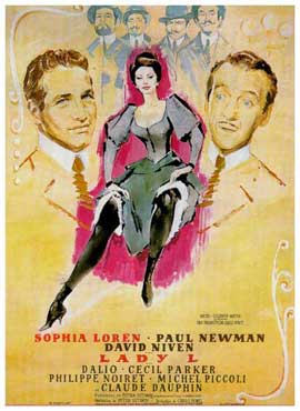 Lady L - 11 x 17 Movie Poster - French Style A