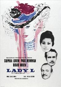 Lady L - 27 x 40 Movie Poster - Swedish Style A