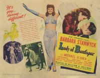 Lady of Burlesque - 11 x 14 Movie Poster - Style A
