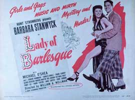 Lady of Burlesque - 11 x 14 Movie Poster - Style H