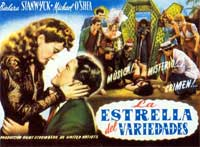Lady of Burlesque - 11 x 17 Movie Poster - Spanish Style A