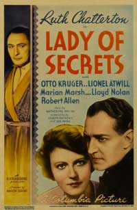 Lady of Secrets - 11 x 17 Movie Poster - Style A