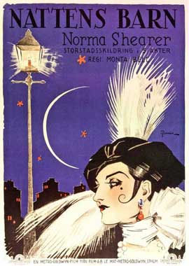 Lady of the Night - 11 x 17 Movie Poster - Swedish Style A