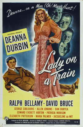Lady on a Train - 27 x 40 Movie Poster - Style A