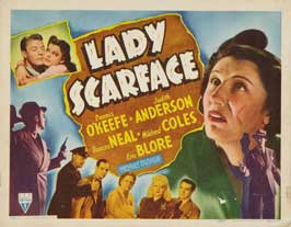 Lady Scarface - 22 x 28 Movie Poster - Half Sheet Style A