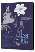 Lady Sings the Blues - 11 x 17 Movie Poster - Style B - Museum Wrapped Canvas