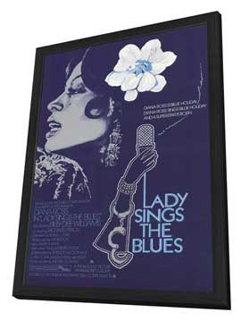 Lady Sings the Blues - 11 x 17 Movie Poster - Style B - in Deluxe Wood Frame