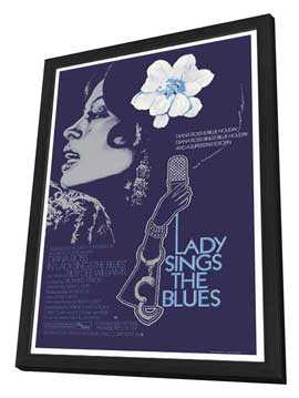 Lady Sings the Blues - 27 x 40 Movie Poster - Style B - in Deluxe Wood Frame