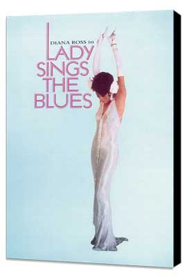 Lady Sings the Blues - 27 x 40 Movie Poster - Style E - Museum Wrapped Canvas