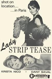 Lady Striptease - 11 x 17 Movie Poster - Style A