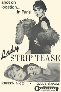 Lady Striptease - 27 x 40 Movie Poster - Style A