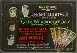 Lady Windermere's Fan - 11 x 17 Movie Poster - Style A