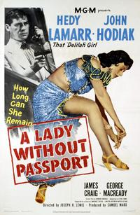 Lady Without Passport - 27 x 40 Movie Poster - Style A