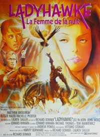 Ladyhawke - 11 x 17 Movie Poster - French Style A