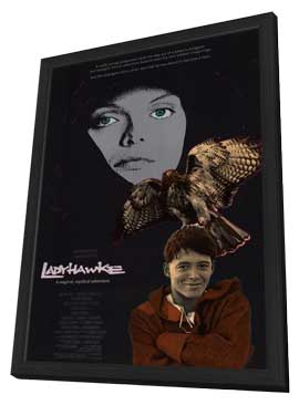 Ladyhawke - 11 x 17 Movie Poster - Style A - in Deluxe Wood Frame