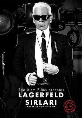 Lagerfeld Confidential - 27 x 40 Movie Poster - Style A