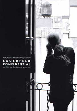 Lagerfeld Confidential - 11 x 17 Movie Poster - French Style A