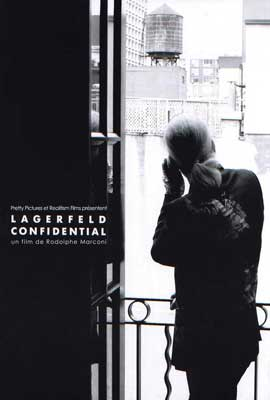 Lagerfeld Confidential - 27 x 40 Movie Poster - French Style A