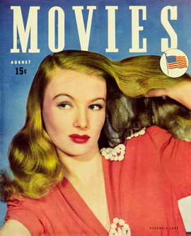 Veronica Lake - 11 x 17 Movies Magazine Cover 1930's Style A