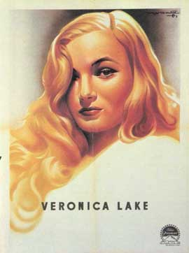Veronica Lake - 11 x 17 Movie Poster - Style A