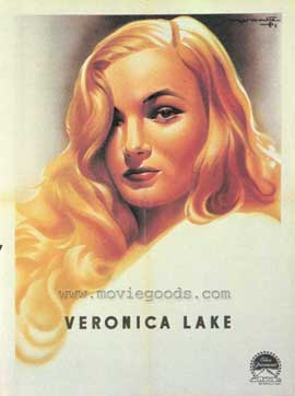 Veronica Lake - 27 x 40 Movie Poster - Style A