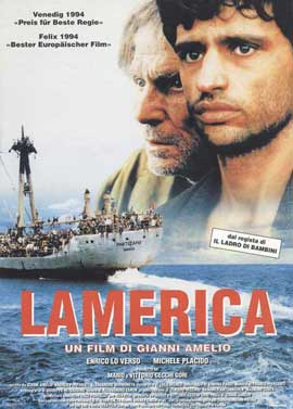 Lamerica - 11 x 17 Movie Poster - Swiss Style A