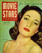 Dorothy Lamour - 11 x 17 Movie Stars Parade Magazine Cover 1940's