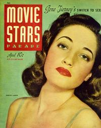 Dorothy Lamour - 27 x 40 Movie Poster - Movie Stars Parade Magazine Cover 1940's