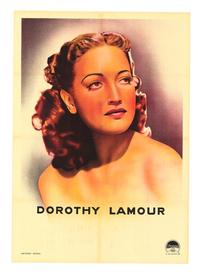 Dorothy Lamour - 27 x 40 Movie Poster - Style A