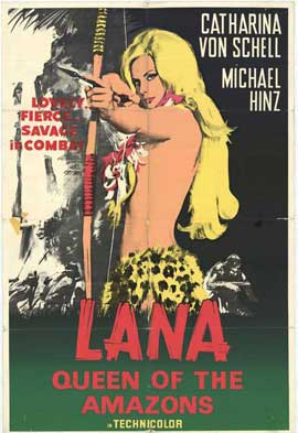 Lana Queen of the Amazons - 11 x 17 Movie Poster - Style A