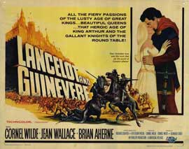 Lancelot and Guinevere - 22 x 28 Movie Poster - Half Sheet Style A