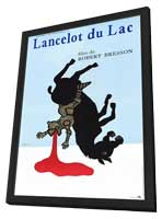 Lancelot du Lac - 27 x 40 Movie Poster - French Style A - in Deluxe Wood Frame