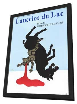 Lancelot du Lac - 11 x 17 Movie Poster - French Style A - in Deluxe Wood Frame