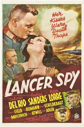 Lancer Spy - 27 x 40 Movie Poster - Style A