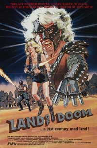 Land of Doom - 11 x 17 Movie Poster - Style A
