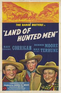 Land of Hunted Men - 11 x 17 Movie Poster - Style A