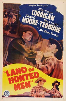 Land of Hunted Men - 27 x 40 Movie Poster - Style B