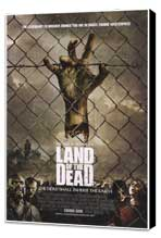 Land of the Dead - 27 x 40 Movie Poster - Style B - Museum Wrapped Canvas